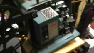 Bell & Howell model 552 Filmosound 16mm projector test