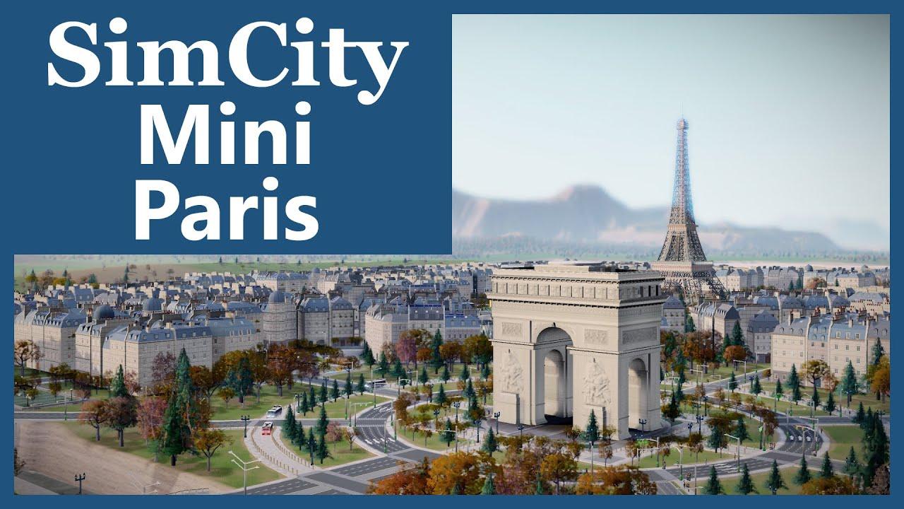 Mini Paris : simcity 2013 mini paris simvalera youtube ~ Gottalentnigeria.com Avis de Voitures