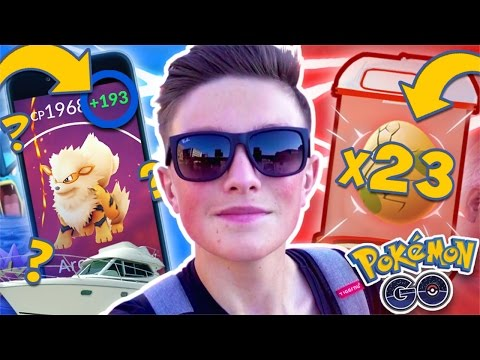 *ULTIMATE* EGG HATCHING METHOD V2!! (23 EGGS) - Pokemon Go (+193 CP POWER UP) - SUPER RARE POKEMON!!