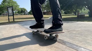 How to FRONTSIDE 50-50