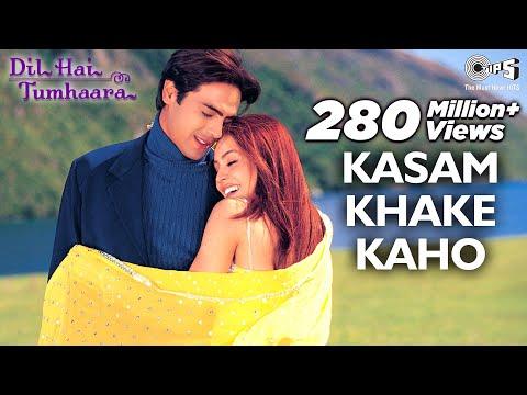 Kasam Khake Kaho Video Song - Dil Hai Tumhaara | Preity, Arjun & Mahima | Alka Y & Kumar Sanu