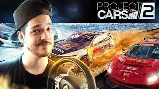 PROJECT CARS 2 - MODO CARREIRA #1 ASSINEI MEU PRIMEIRO CONTRATO... [PC/ULTRA]