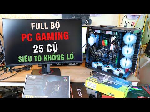 Full Bộ Pc Gaming Tầm Giá 25 Triệu Cho Ae Làm Đồ Họa Dựng Phim Và Chiến Game