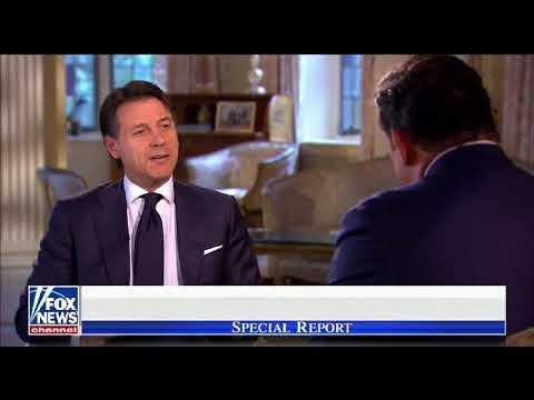 Bret interviews Italian Prime Minister Conte