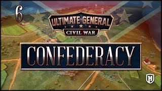 BATTLE OF SHILOH!   Confederate Campaign #6 - Ultimate General: Civil War Gameplay