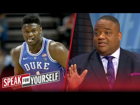 Whitlock: NBA & NCAA would be foolish to let stars like Zion skip college hoops | SPEAK FOR YOURSELF