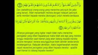 AL-QURANUL KARIM-SURAH MUHAMMAD AYAT 1-38-BACAAN DAN TERJEMAHAN (FULL).wmv