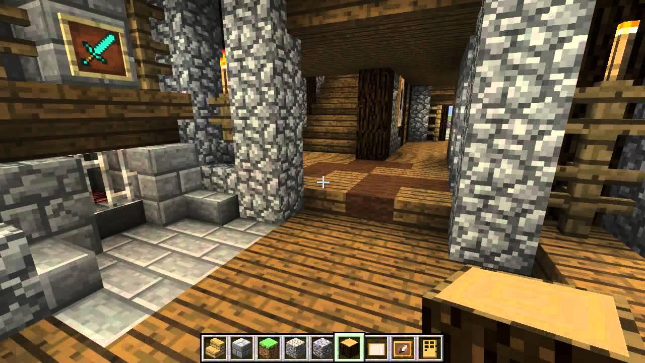 Minecraft Medieval Hunting Lodge
