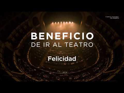 Beneficio de ir al teatro: Felicidad