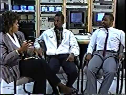 Nick Reed & Keith Robinson on Community Connection 1989   NRJ Partners