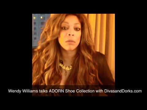 Wendy Williams Talks ADORN shoe Collection