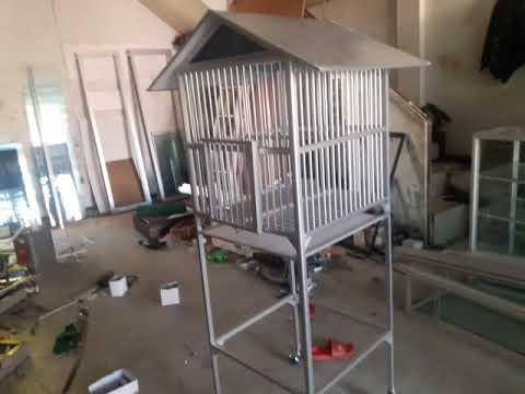Sangkar Burung Dari Aluminium Mewah Youtube