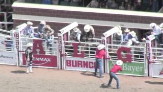 """""""Pt 5 09 Calgary Stampede Rodeo. The Bull Riding Finals!"""" Myk Aussie"""