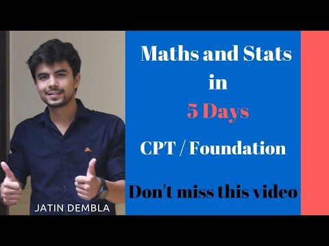 Maths and Stats Course in 5 days | Complete your QA Course in 5 Days | Crash Course for QA