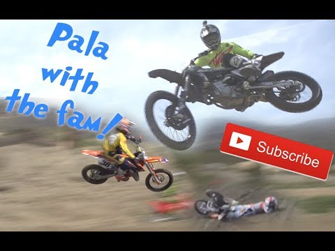 Team 38 Ride Day at Pala! Did Fortnite Heal Hudson!?