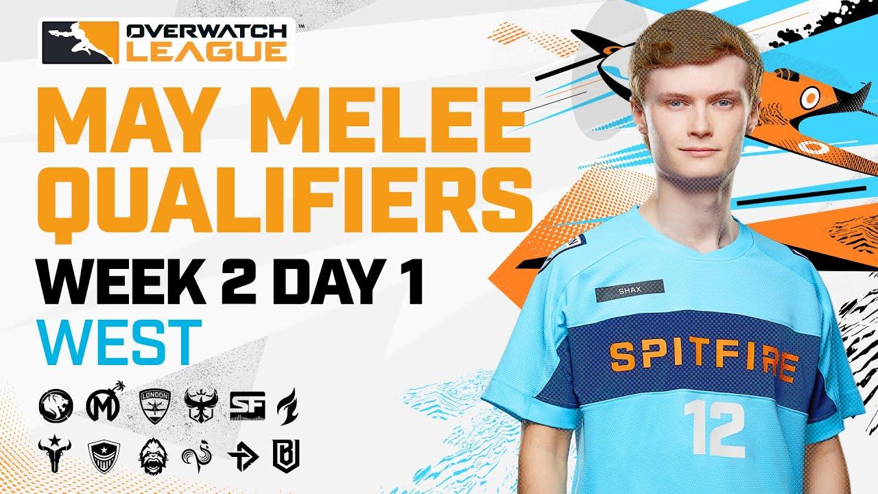 Overwatch League 2021 Season | May Melee Qualifiers | Week 2 Day 1 — West