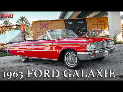 The Perfect Cruiser,  Iconic 1963 Ford Galaxie | REVIEW SERIES
