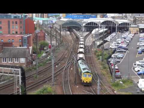 Railways, Bridges & River at Newcastle upon Tyne & Gateshead, Tyne & Wear, England - 1st Aug, 2017