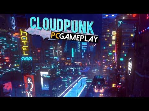 Cloudpunk Gameplay (PC HD)