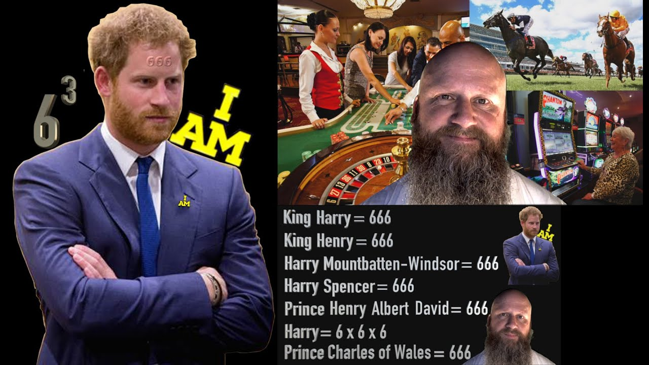 Prince Harry has 7 Names = 666
