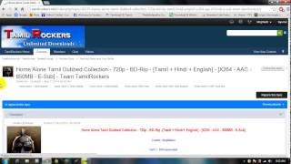 How to  Download Tamil Dubbed movies and Tamil movies