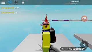 Roblox escape nothing obby gameplay