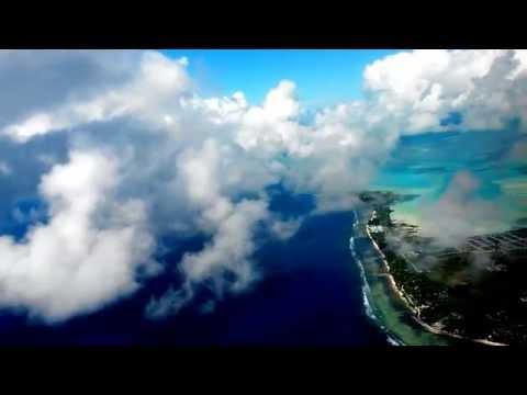 Flying into Tarawa, Kiribati (FJ231): 5 Nov 2015