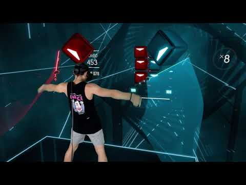 RISE feat. The Glitch Mob, Mako, The Word Alive - League of Legends Beat Saber Map
