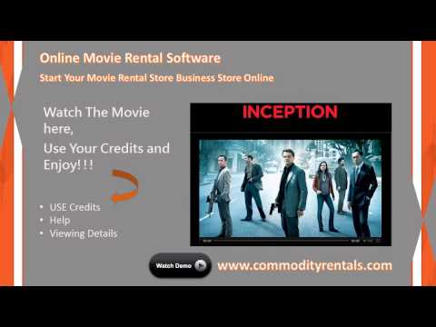 Movie Rental Software -- Programs -- Script for Online Movie Rental Business Store System