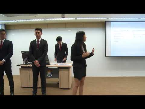 2017 Round 1 National University of Singapore - HSBC/HKU Asia Pacific Business Case Competition