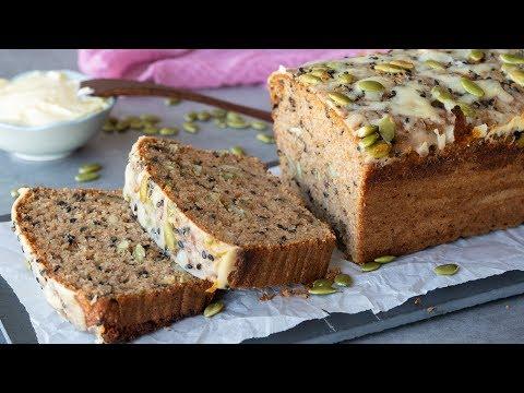 No Knead Cheese Whole Grain Bread Healthy Food Videos
