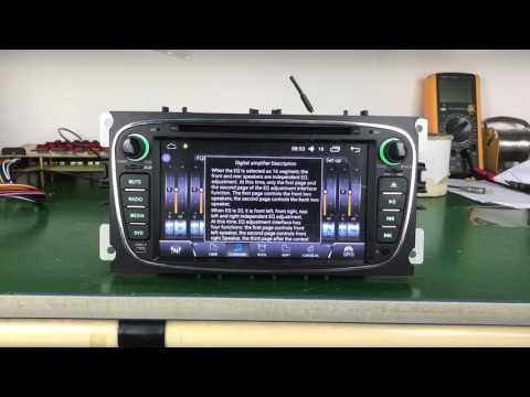 JOYING 7''  Android Autoradio Subwoofer for Ford Mondeo Focus