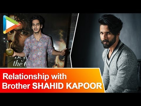 """Both me and Shahid are very PASSIONATE about..."": Ishaan Khattar"