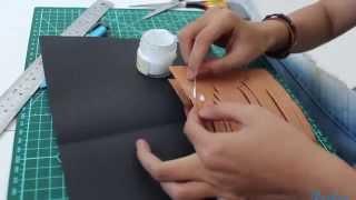 [Hướng dẫn] Làm thiệp theo kiểu kirigami