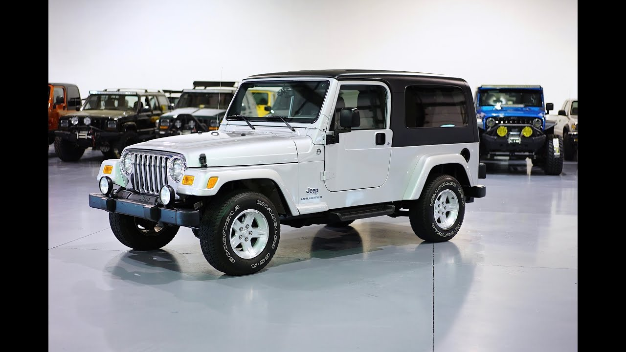 Jeep Wrangler Unlimited Lifted >> Davis AutoSports 2006 Jeep Wrangler LJ Unlimited / ONLY ...
