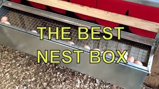 BEST NEST BOX ~ THE ULTIMATE CHICKEN LAYING BOX