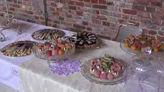 Afternoon Tea with Vintage Rose China Hire - Hatfield House -