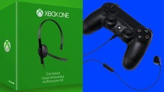 Xbox One vs. PS4 - Camera and Headset Audio Comparison
