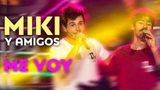 """MIKI Y DALTON BANG cantan """"Me voy""""   Concierto 'Miki y amigos'"""