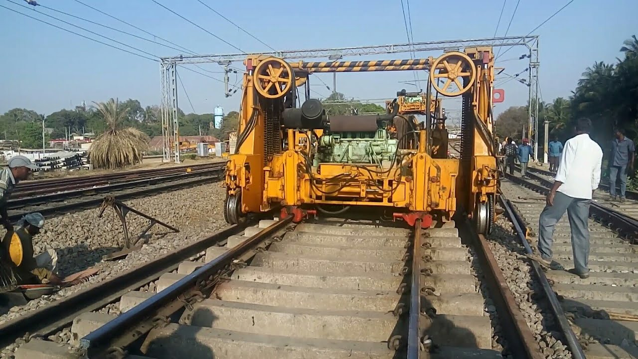 Complete Track Renewal | PQRS Work | INDIAN RAILWAYS - YouTube