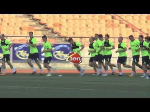 Everton In Tanzania : Everton ikifanya mazoezi yake ya mwisho