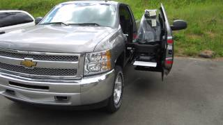 Don't want a wheelchair mini van? Try this sick 4X4 pick up truck!