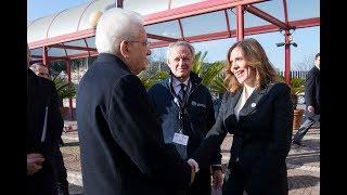 Visita del Presidente della Repubblica Sergio Mattarella all'INGV