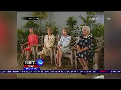 Mantan First Lady Barbara Bush Meninggal Dunia - NET 10
