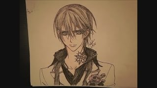 Zero Kiryu - Vampire Knight ( Speed Drawing)