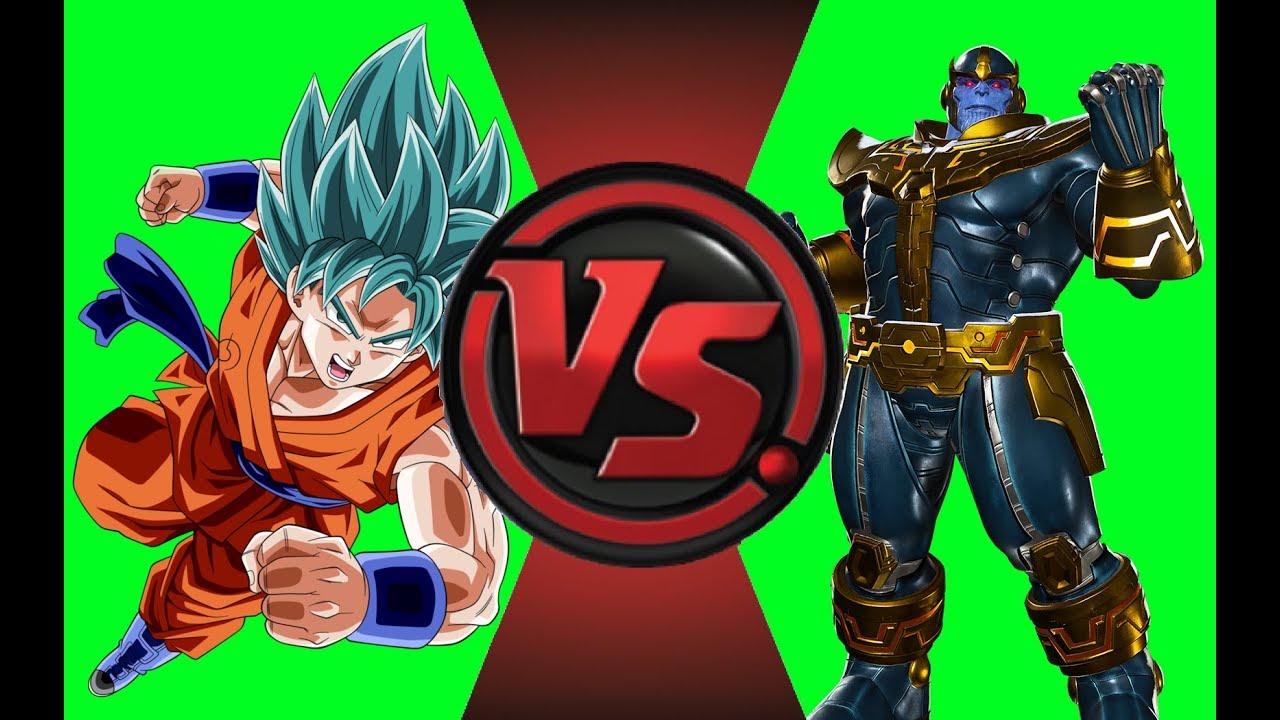 Goku Vs Thanos: Goku VS Thanos Sprite Animation