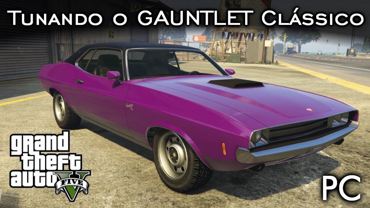 Tunando o GAUNTLET Clássico - DLC The Diamond Casino & Resort | GTA V - PC  [PT-BR]