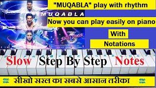 Download lagu Muqabla, Street Dancer, Piano Tutorial With Notations, मुक़ाबला मुक़ाबला लैला ओ हो लैला