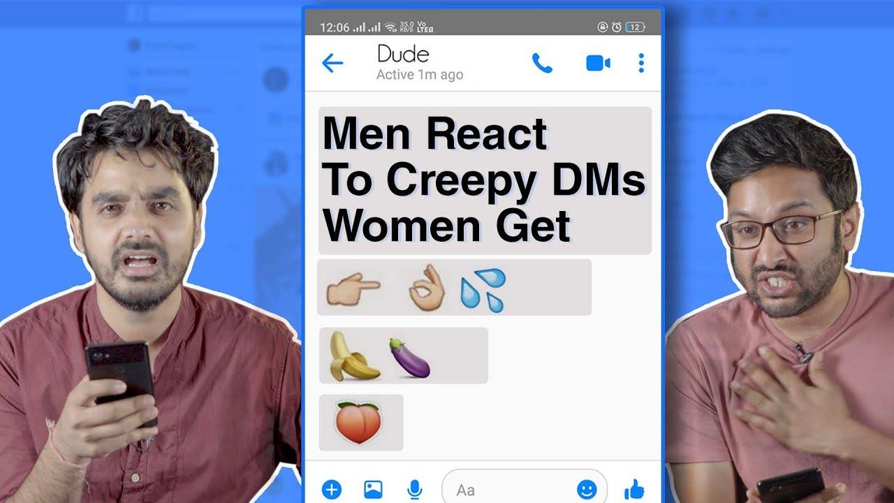 Download Men React To Creepy DMs Women Receive | MissMalini