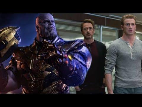 Thanos Attacks The Avengers HQ - Spiderman 2099 In Avengers Endgame - Theory Thursday